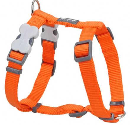 Red Dingo Dog Harness Classic Orange
